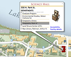 UW Online Campus Map